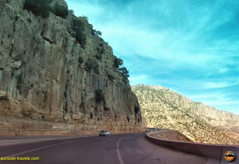 مسیر زیبای شیمبار تا تاراز