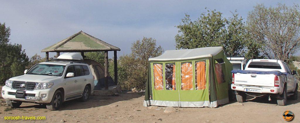 کمپ در منطقه تاراز - نوروز 1397 2018