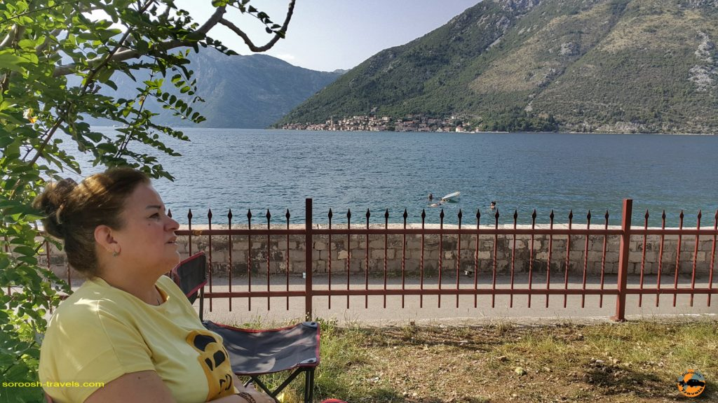 اقامتگاهی در استولیو مجاور دریاچه کوتور