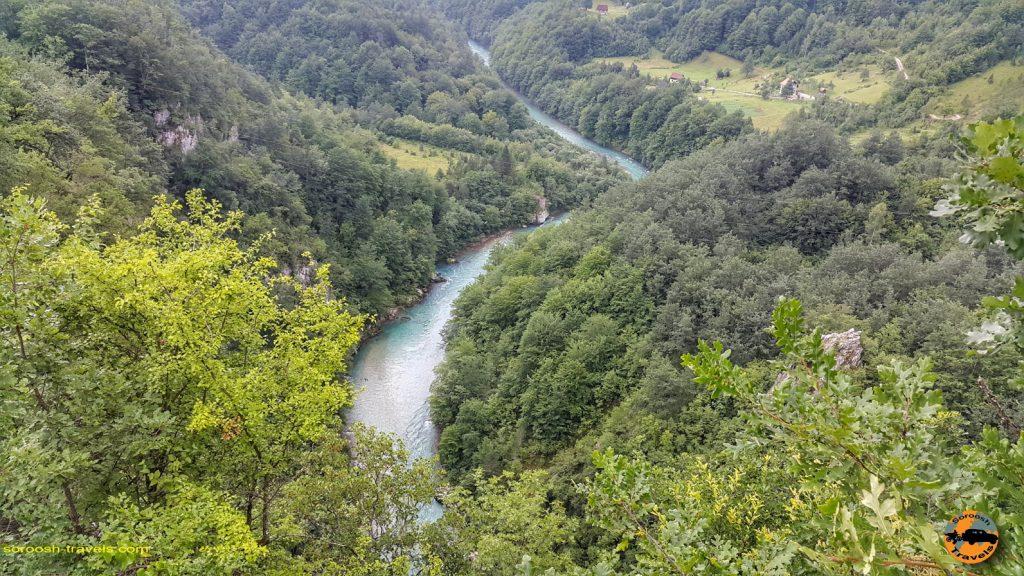 رودخانه تارا در مونته نگرو