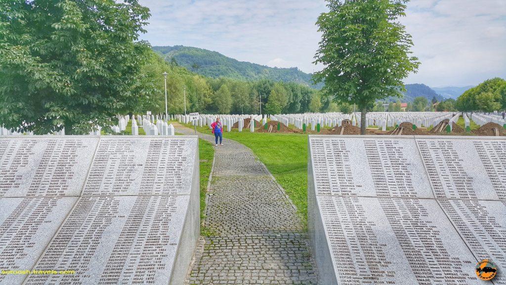 یادبود قربانیان نسل کشی بوسنی، سربرنیسا