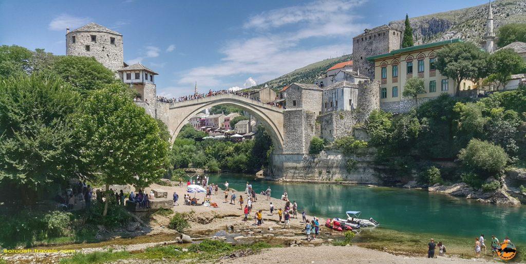 شهر زیبا و تاریخی موستار، بوسنی هرزگوین – ۲۰ تیر ۱۳۹۷