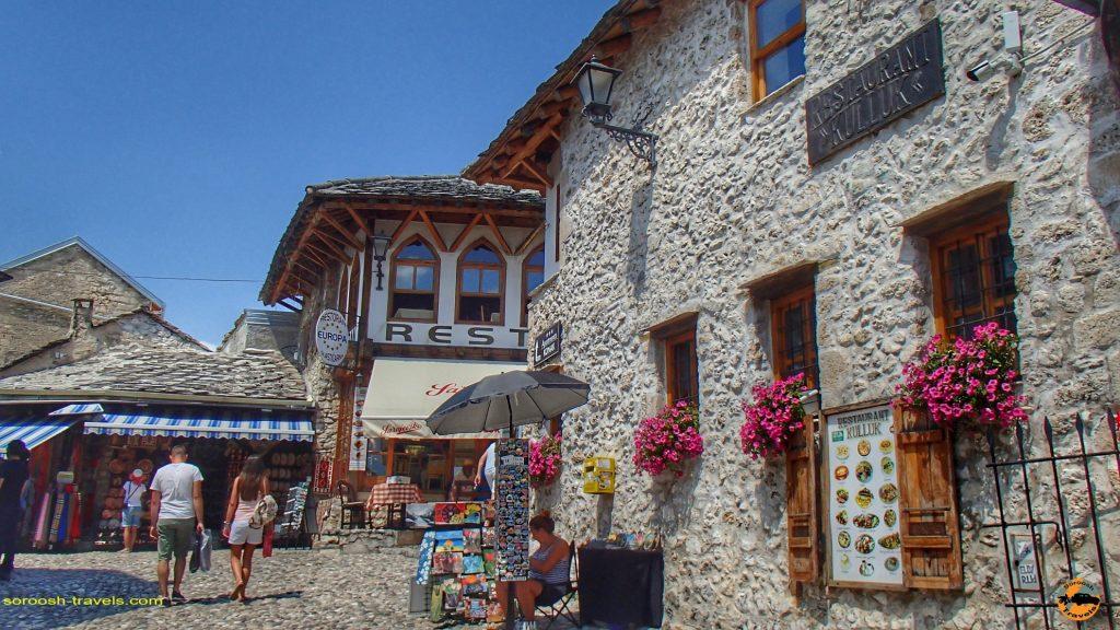 شهر زیبای موستار در بوسنی هرزگوین
