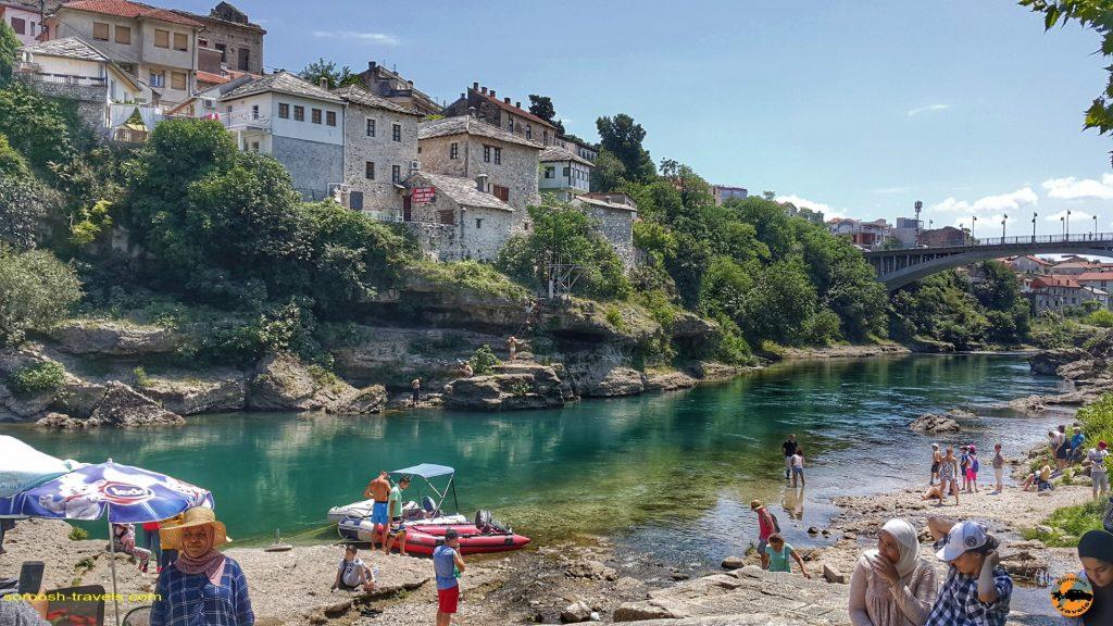رودخانه موستار در بوسنی هرزگوین