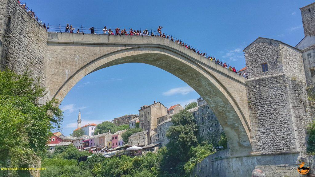 پل تاریخی موستار در بوسنی هرزگوین