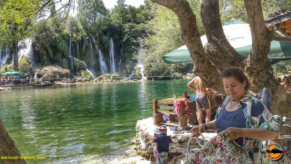 مجموعه آبشارهای Kravica در بوسنی هرزگوین
