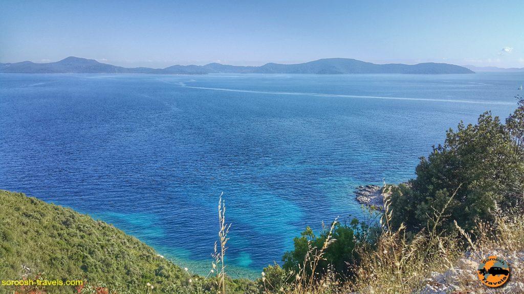 سواحل دریای آدریاتیک در کشور کرواسی