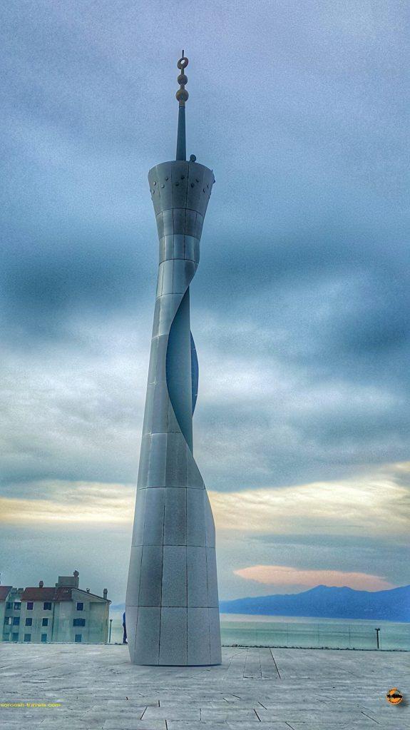 مسجد شهر ری یکا در کرواسی با هزینه کشور قطر ساخته شده