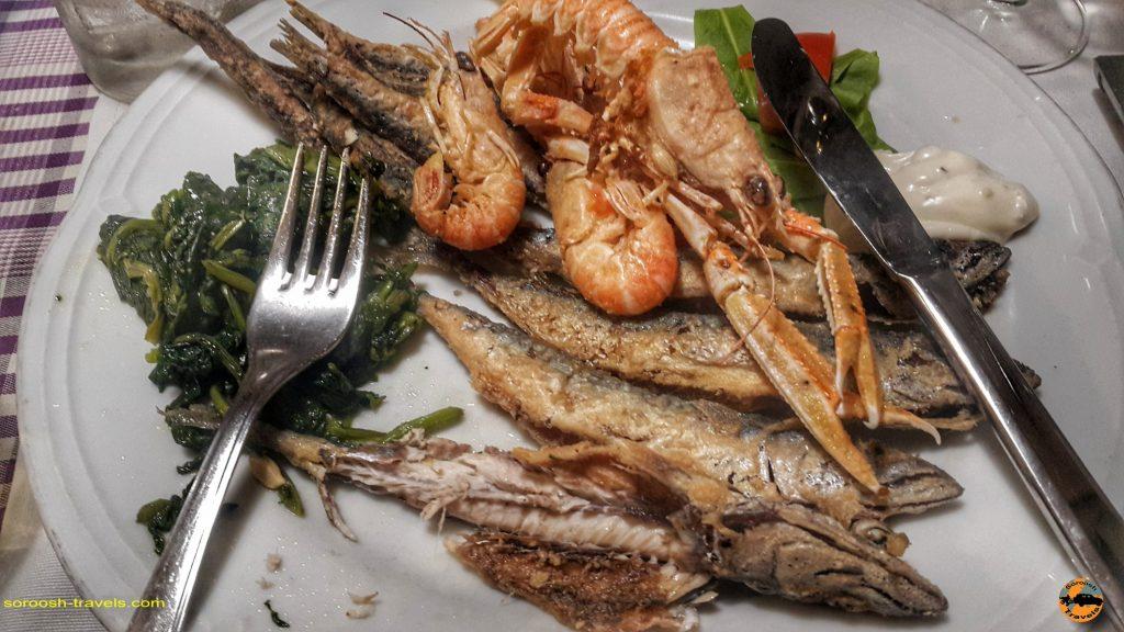 یه غذای خوشمزه در شهر ری یکا