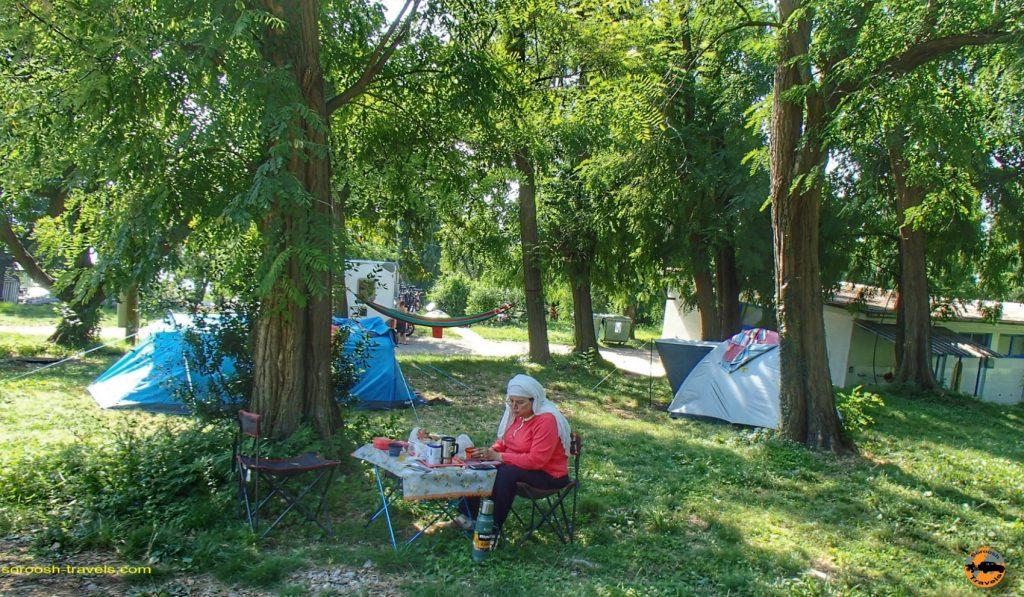 کمپ سایت شهر ایکا در کرواسی