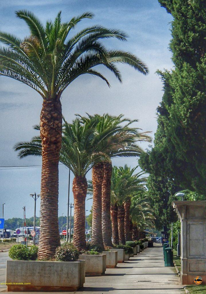 شهر پولا در کرواسی