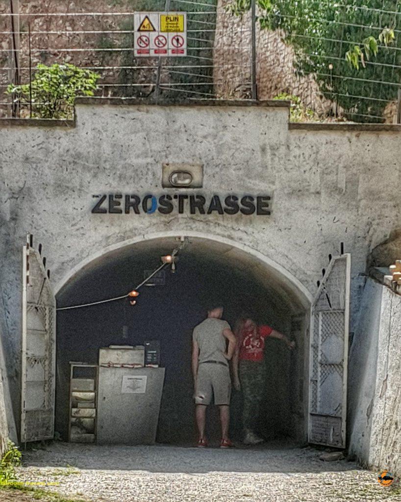 تونل پولا - تونلی که در جنگ جهانی اول بعنوان پناهگاه در شهر پولا Pula ساخته شده