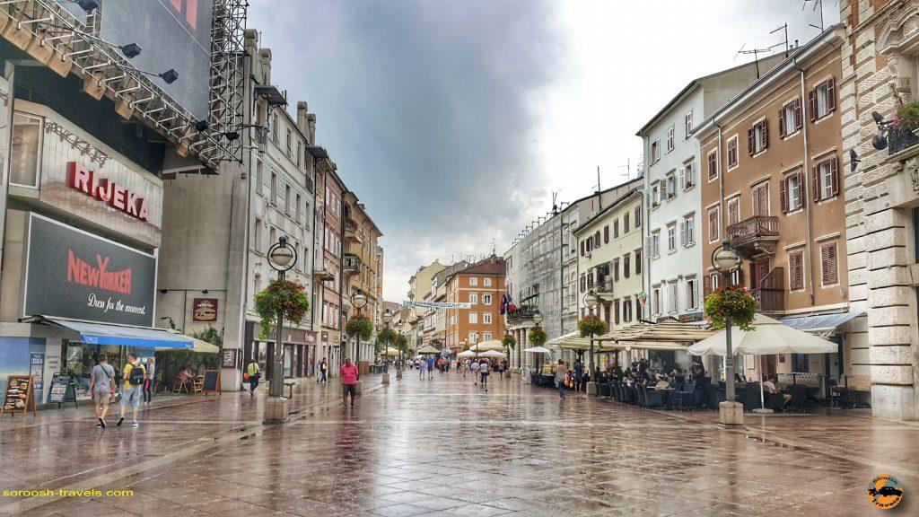 شهر ری یکا Rijeka در کرواسی