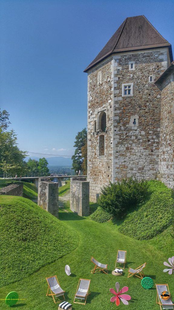 قلعه شهر لیوبلیانا