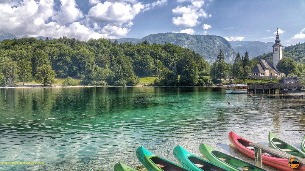 دریاچه بلد در اسلوانی - تابستان 1397