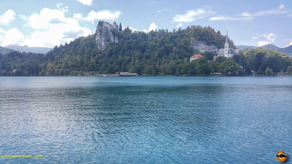 دریاچه شهر بلد Bled در اسلوانی - تابستان 1397