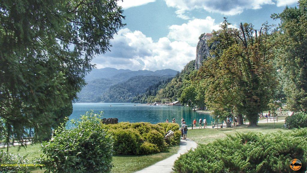 دریاچه بلد Bled در اسلوانی - تابستان 1397