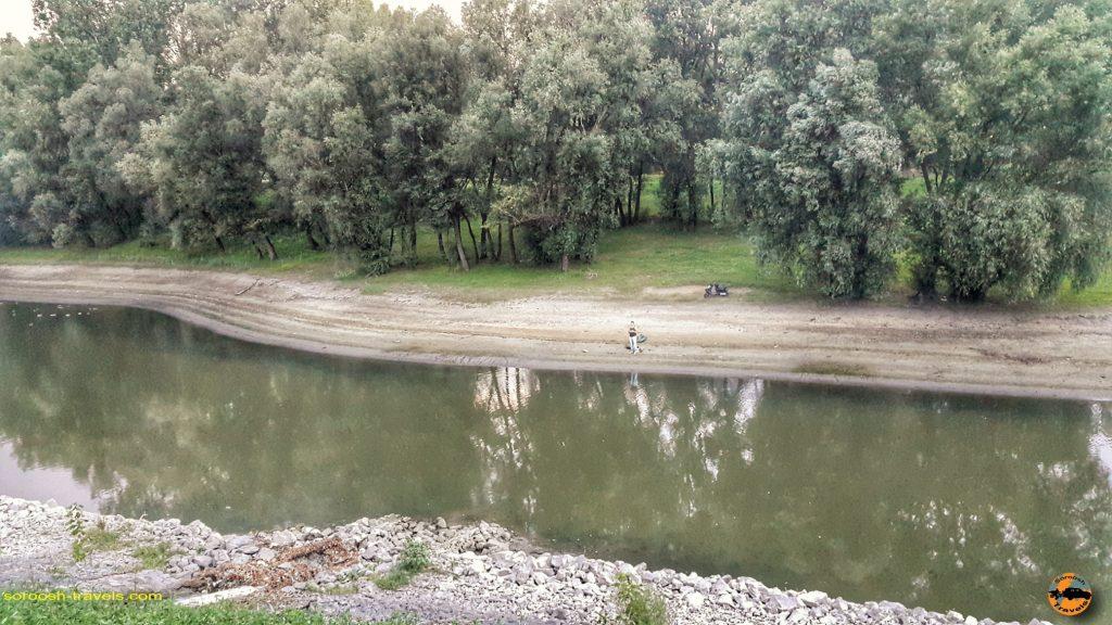 رودخانه دانوب در شهر بایا - مجارستان - تابستان 1397