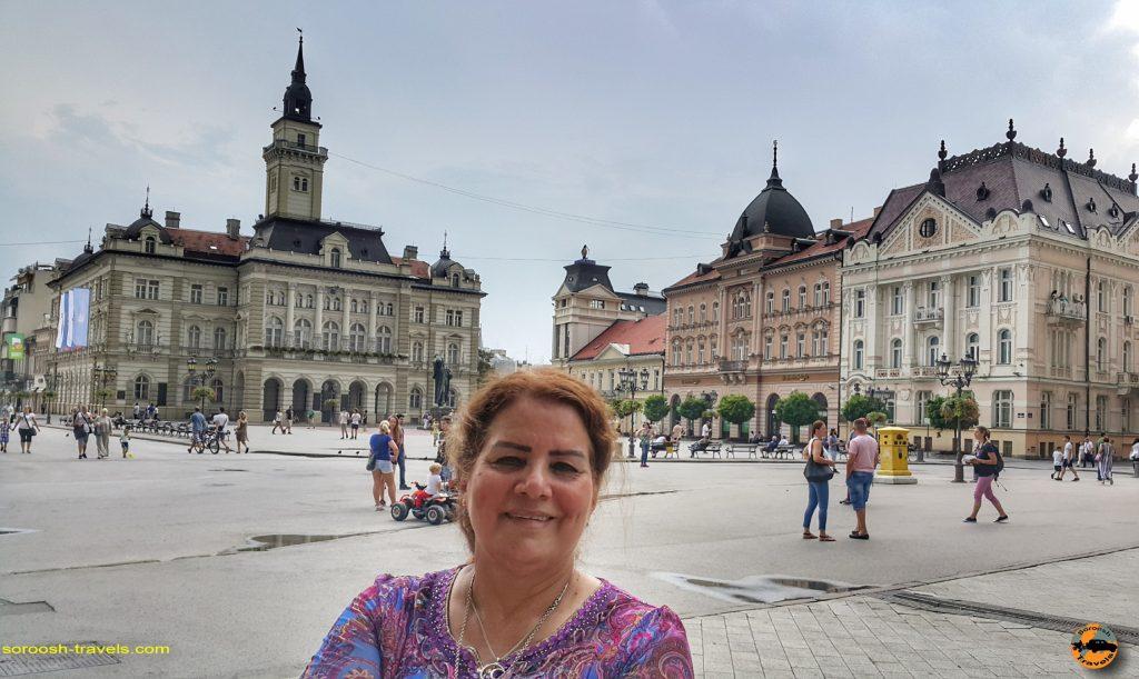نوی ساد در صربستان - تابستان 1397