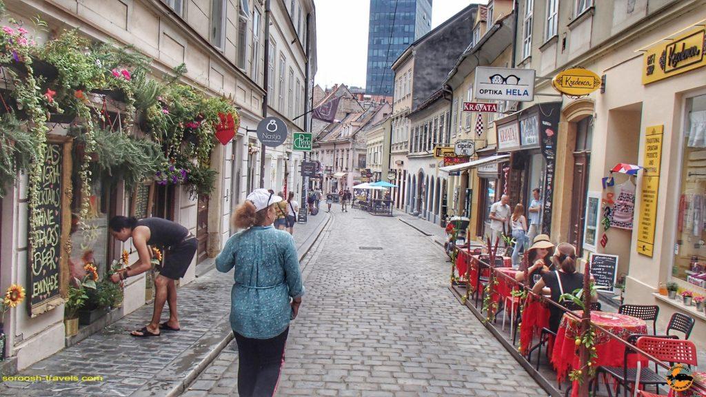 شهر زاگرب – کرواسی – ۳ مرداد ۱۳۹۷
