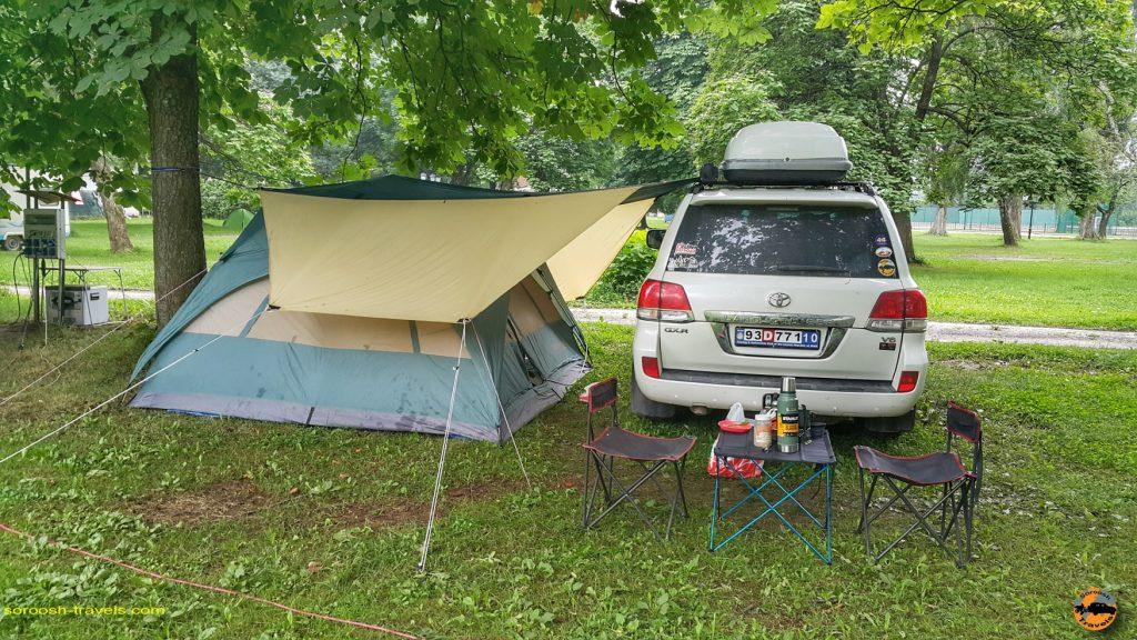 کمپ سایتی در سارایوو
