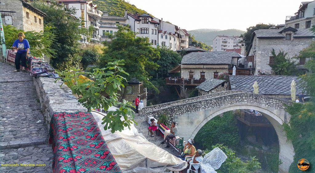 شهر موستار در بوسنی هرزگوین