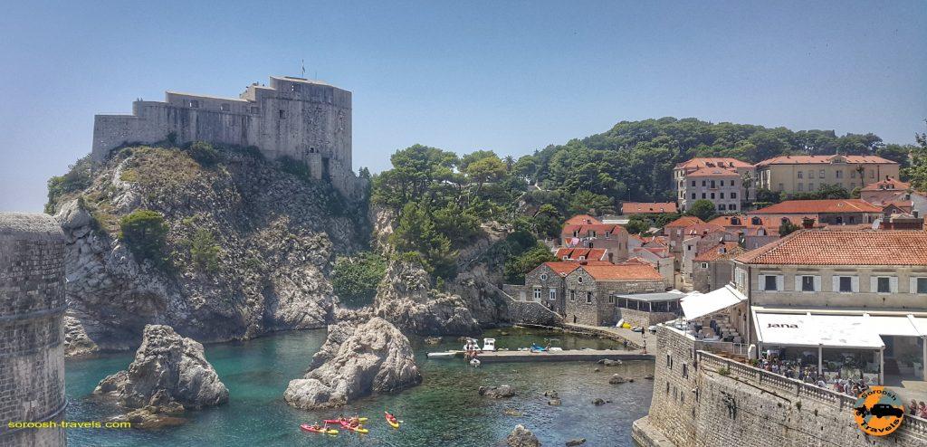 قلعه معروف، باستانی و بسیار زیبای دوبرونیک