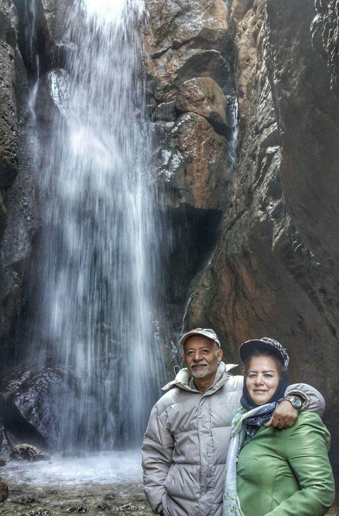 آبشار زیبای مجن