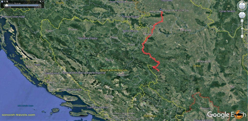 مسیر ما از نوی ساد تا پارک ملی تارا در صربستان - تابستان 1397