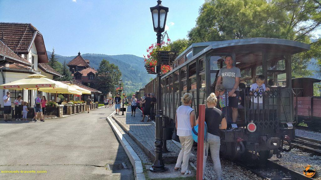 قطار صربستان - تابستان 1397