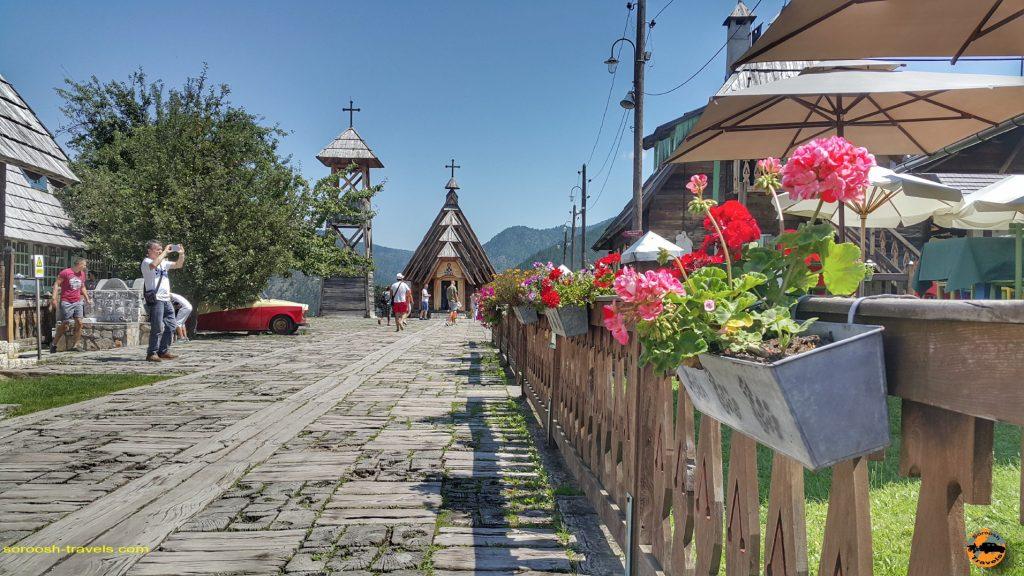 شهر چوبی در پارک ملی تارا - صربستان - تابستان 1397