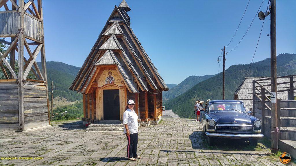 شهر چوبی در پارک ملی تارا، صربستان – ۱۴ مرداد ۱۳۹۷
