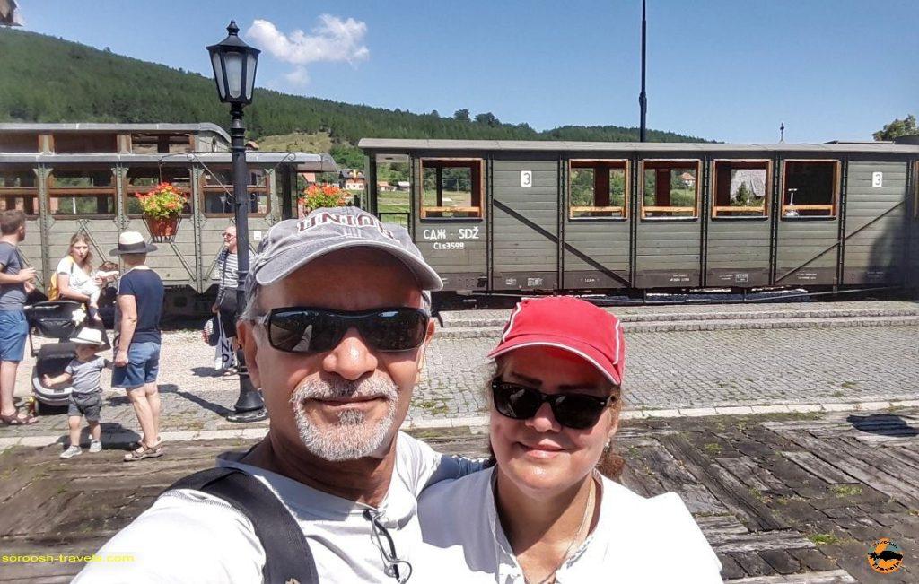 قطار گردشگری در صربستان - تابستان 1397