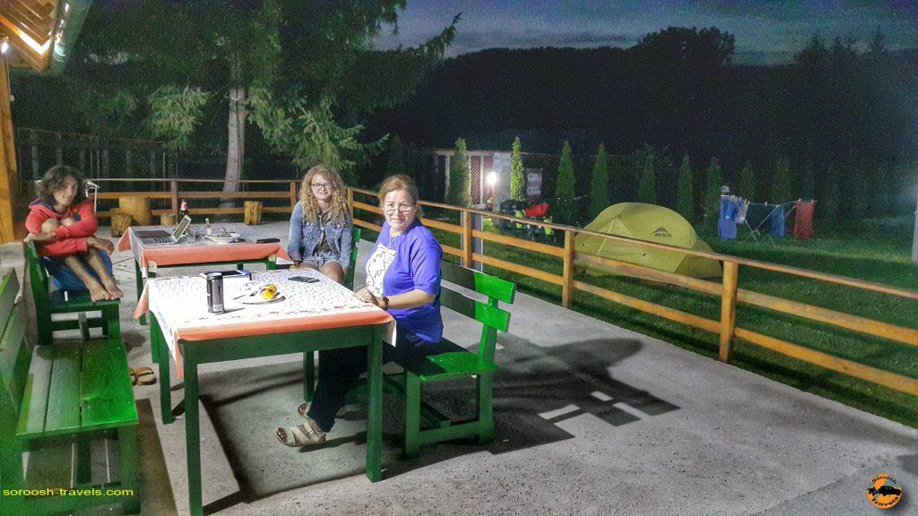 اقامتگاه در پارک ملی تارا - صربستان - تابستان 1397