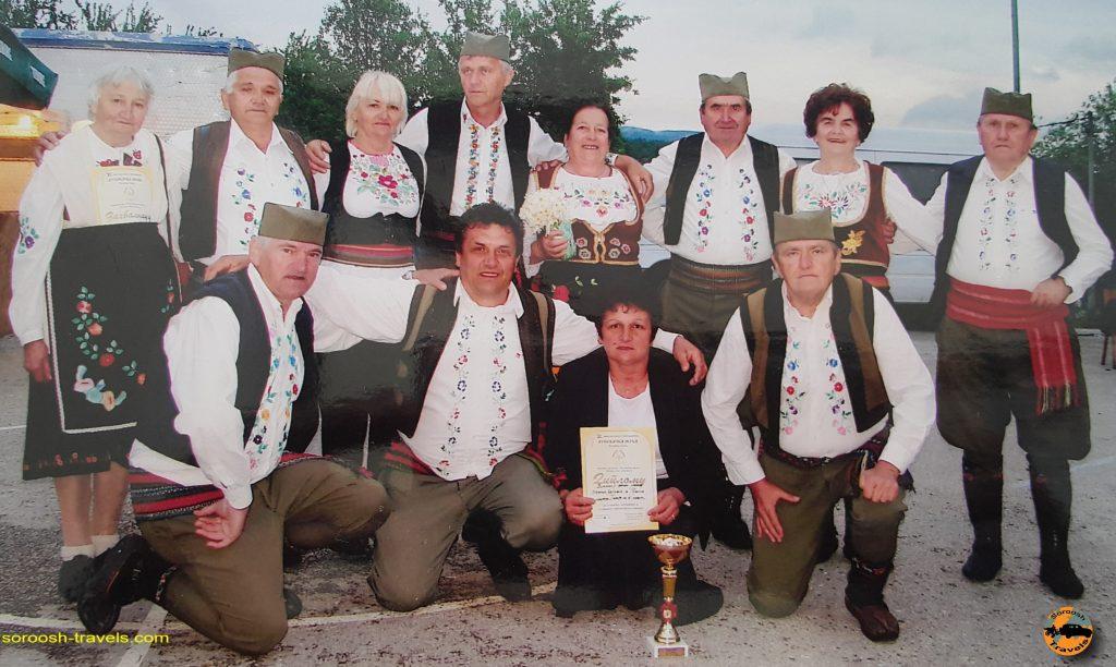 سرودهای سنتی صربستان در شهر گوچا - تابستان 1397