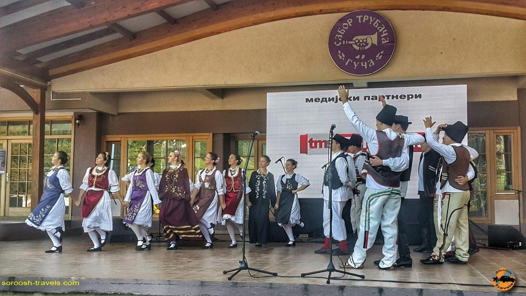 رقصهای زیبای سنتی در شهر گوچا - صربستان - تابستان 1397
