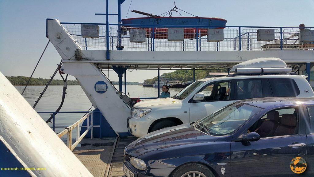 حمل ماشین با قایق در مجارستان - تابستان 1397