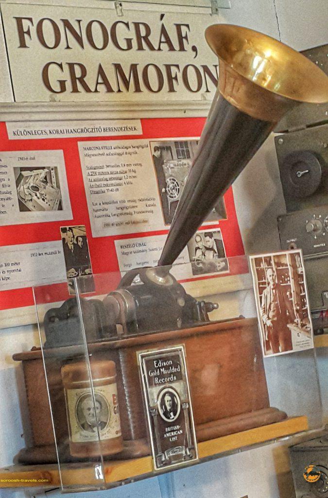 اولین دستگاههای ضبط صدا بصورت کاملا مکانیکی. ساخت توماس آلوا ادیسون