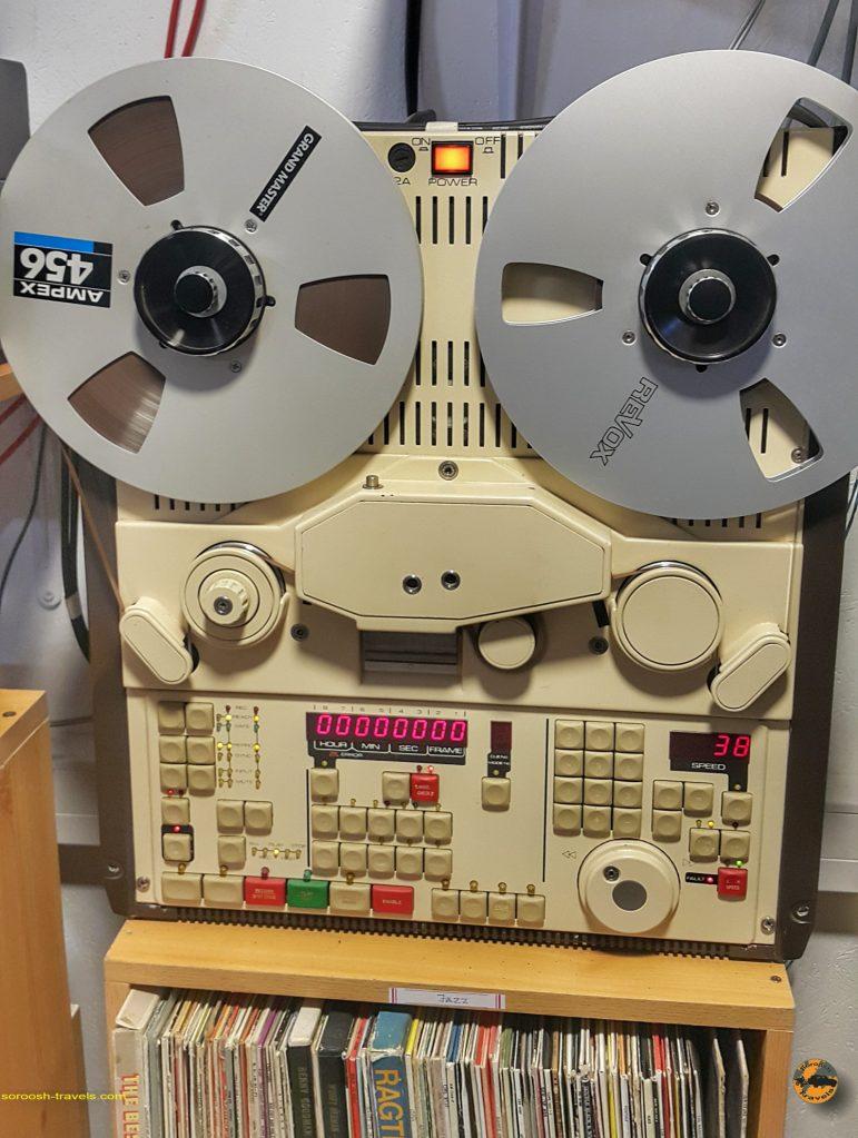 ضبط صوت با کامپیوتر آنالوگ