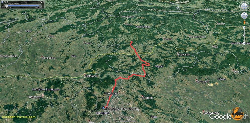 مسیر ما از بوداپست تا کوشیاروچ - تابستان 1397