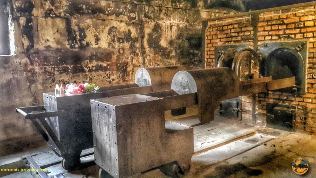 کوره های آدم سوزی آشویتس ، لهستان –  ۶ شهریور ۱۳۹۷