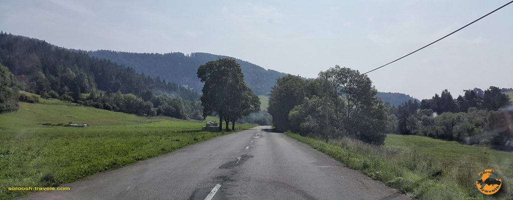 جاده های اسلواکی - تابستان 1397