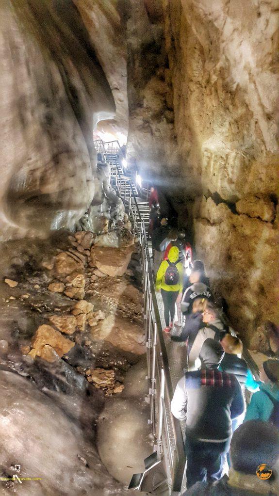 غار یخی در اسلواکی - تابستان 1397
