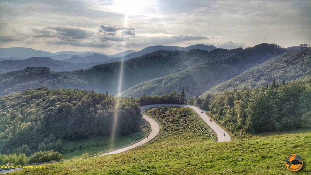 جاده های زیبای اسلواکی