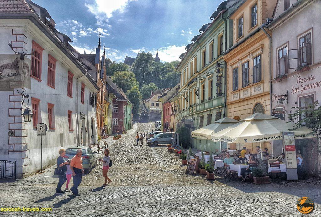 شهر سیگی شوارا، زادگاه دراکولا در رومانی –  ۱۳ شهریور ۱۳۹۷