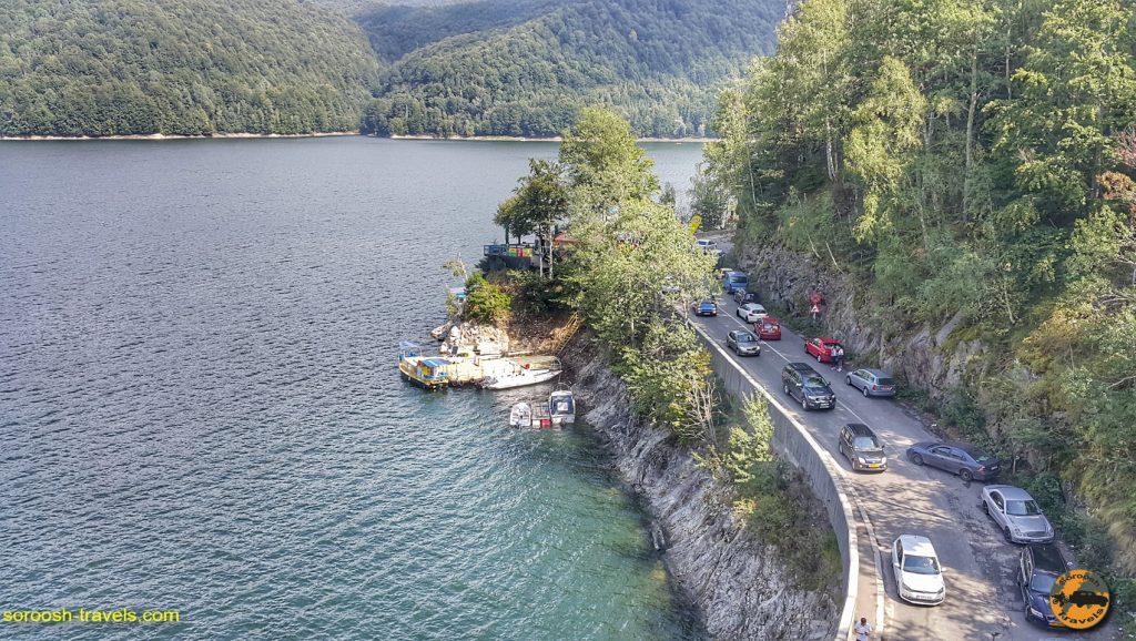 جاده معروف ترنس فاگاراش در رومانی