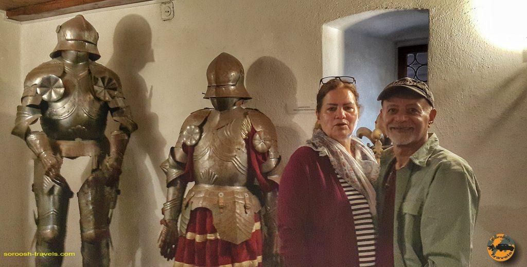 قصر دراکولا - شهر بِرَن - رومانی - ۱۶ شهریور ۱۳۹۷