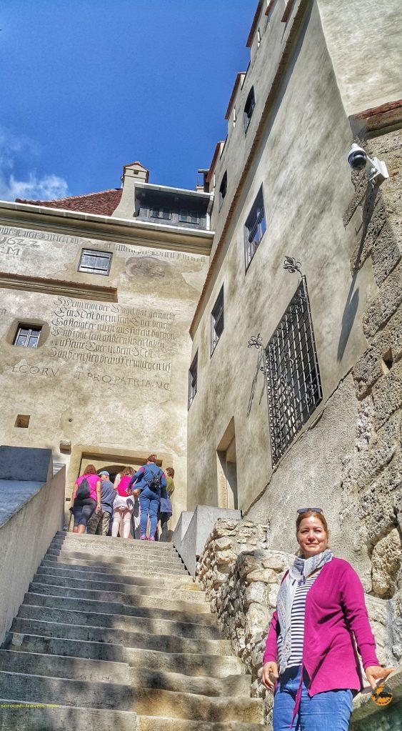 خانه دراکولا در شهر بِرَن، رومانی - ۱۶ شهریور ۱۳۹۷