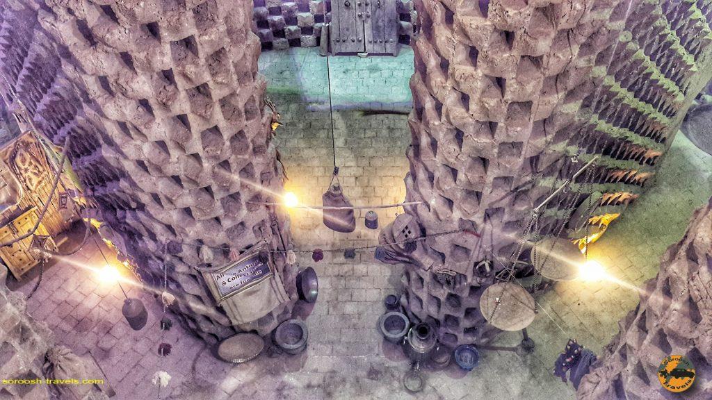 برج کبوتر در ورزنه