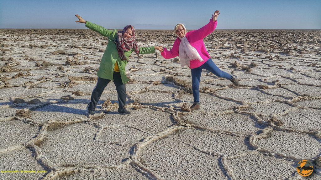 دریاچه نمک و کویر مرنجاب – زمستان ۱۳۹۷